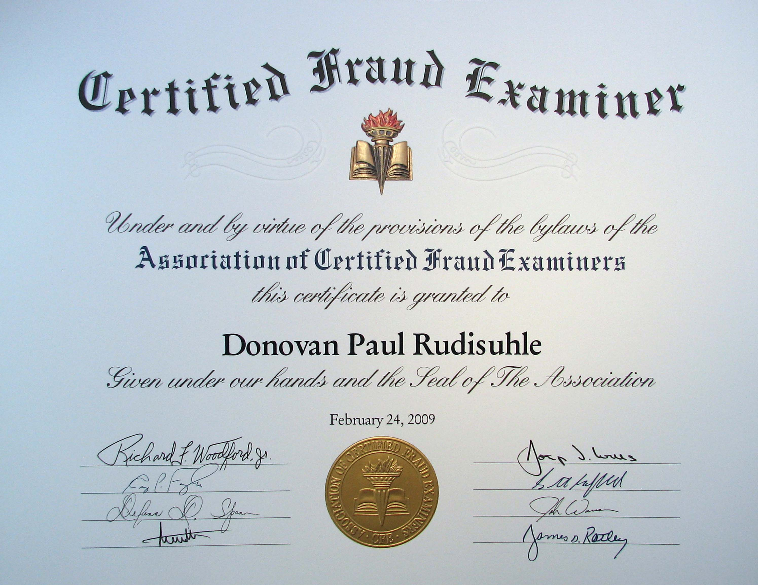 PayScale - Certified Fraud Examiner (CFE) Certification Salary